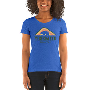 Yosemite National Park Retro Ladies' short sleeve t-shirt