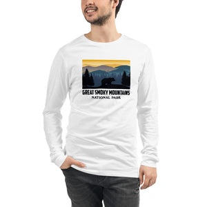 Great Smoky Mountains National Park Men's Long Sleeve Tee