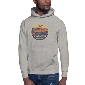 Grand Canyon National Park Retro Unisex Hoodie