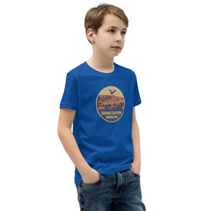 Grand Canyon National Park Retro Youth Short Sleeve T-Shirt