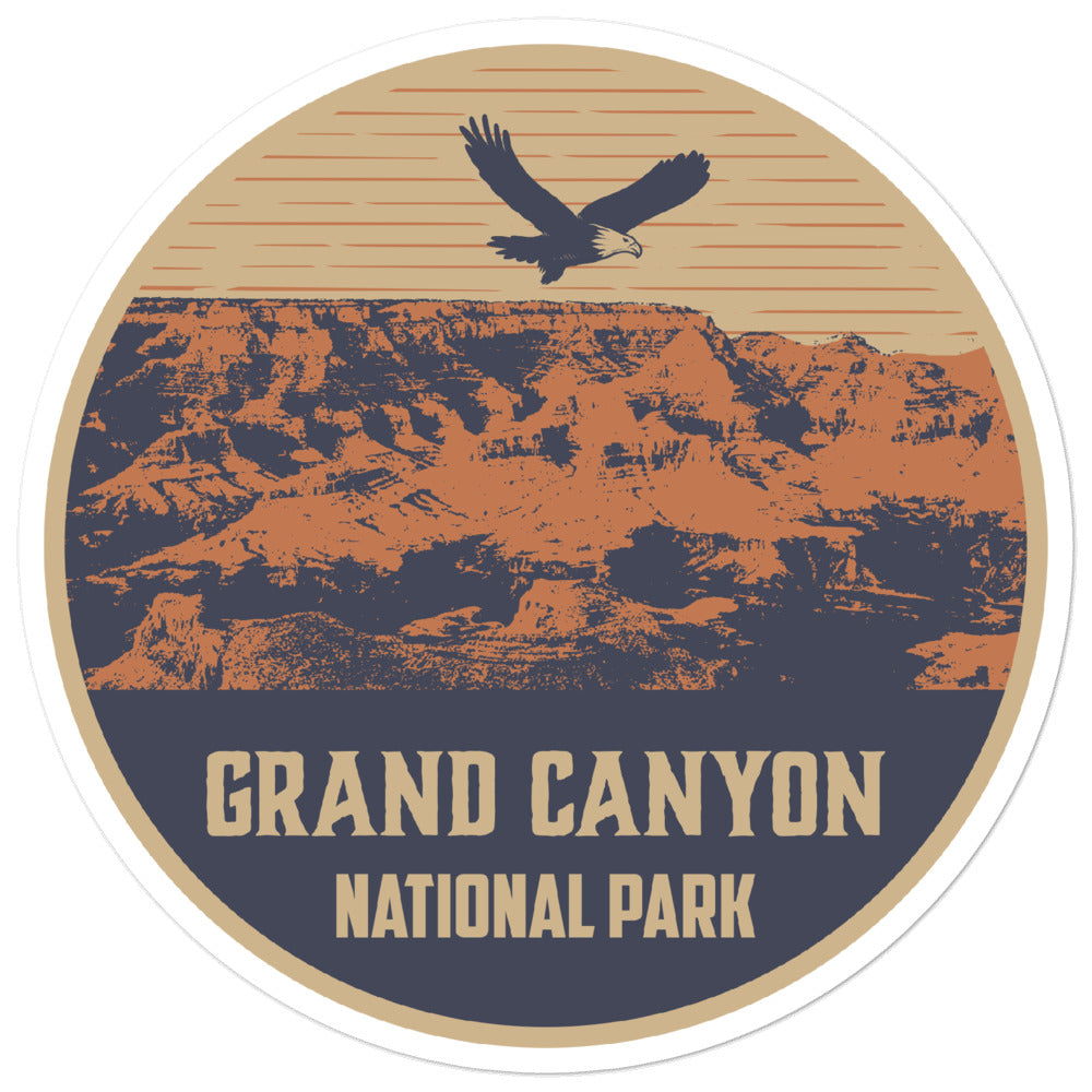 Vintage Grand Canyon National Park Sticker