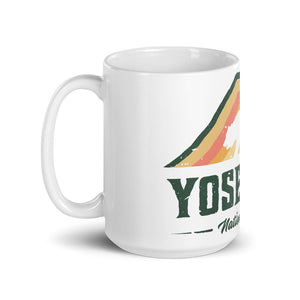 Vintage Yosemite National Park Mug