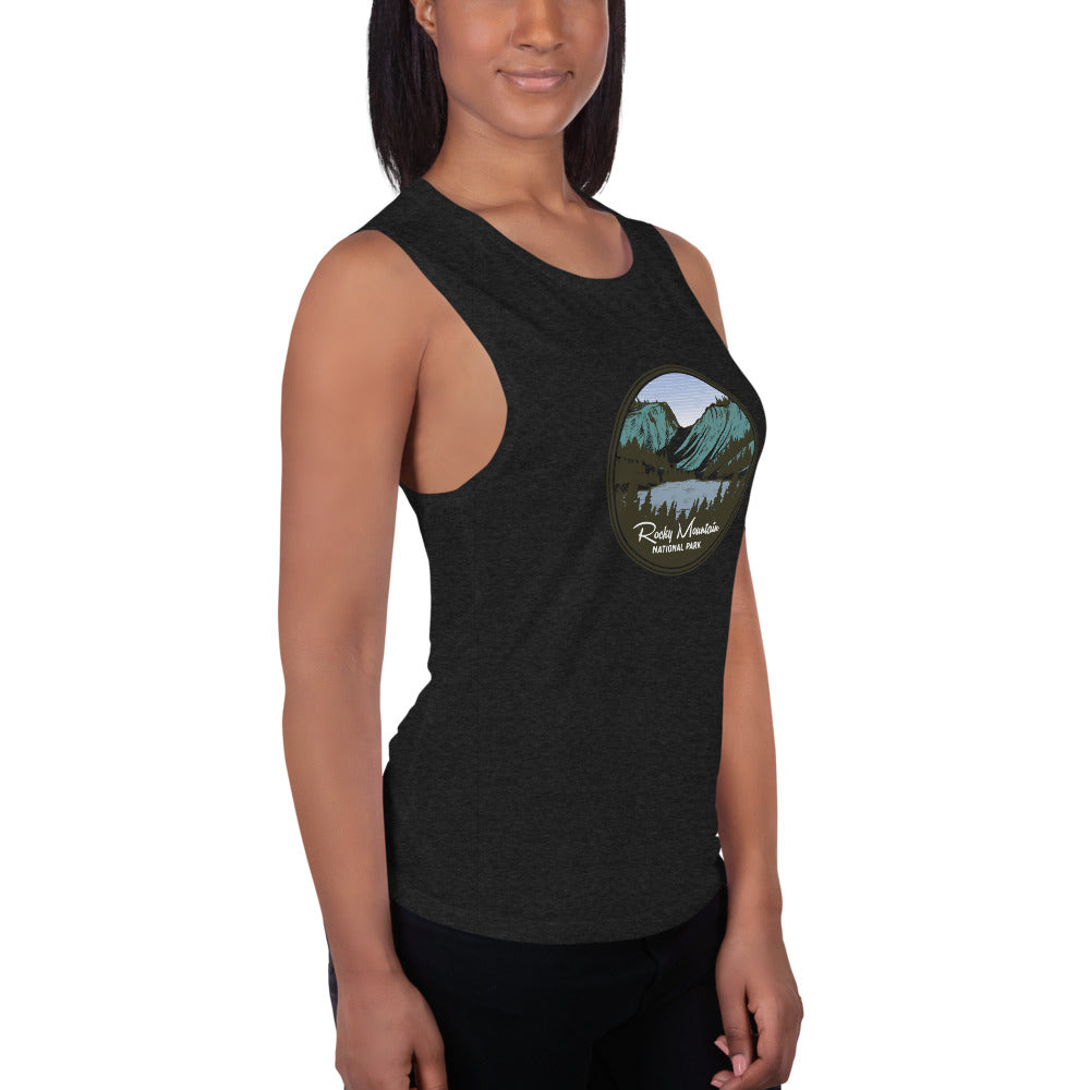 Rocky Mountain National Park Ladies' Muscle Tank