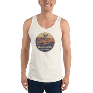Grand Canyon National Park Retro Unisex Tank Top