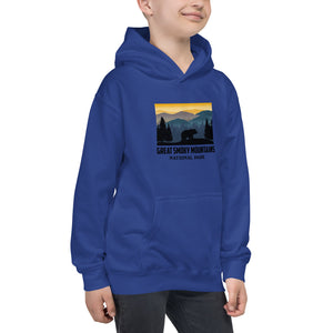 Great Smoky Mountains Retro Kids Hoodie