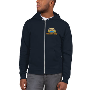 Yellowstone National Park Retro Hoodie