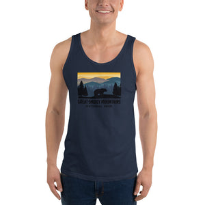 Great Smoky Mountains National Park Retro Unisex Tank Top