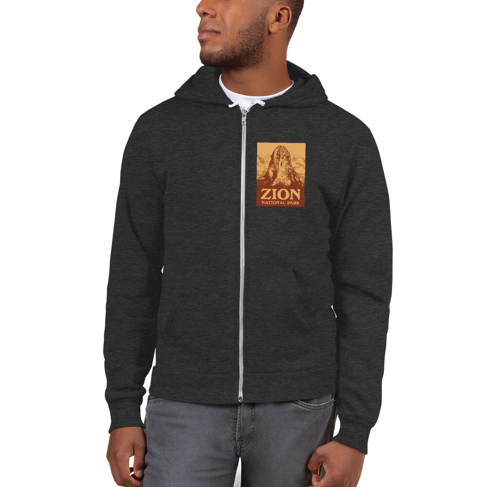 Zion National Park Retro Hoodie sweater