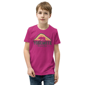 Yosemite National Park Retro Youth Short Sleeve T-Shirt