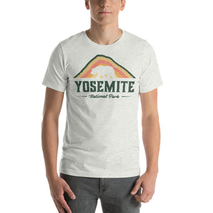 Yosemite National Park Retro Short-Sleeve Unisex T-Shirt