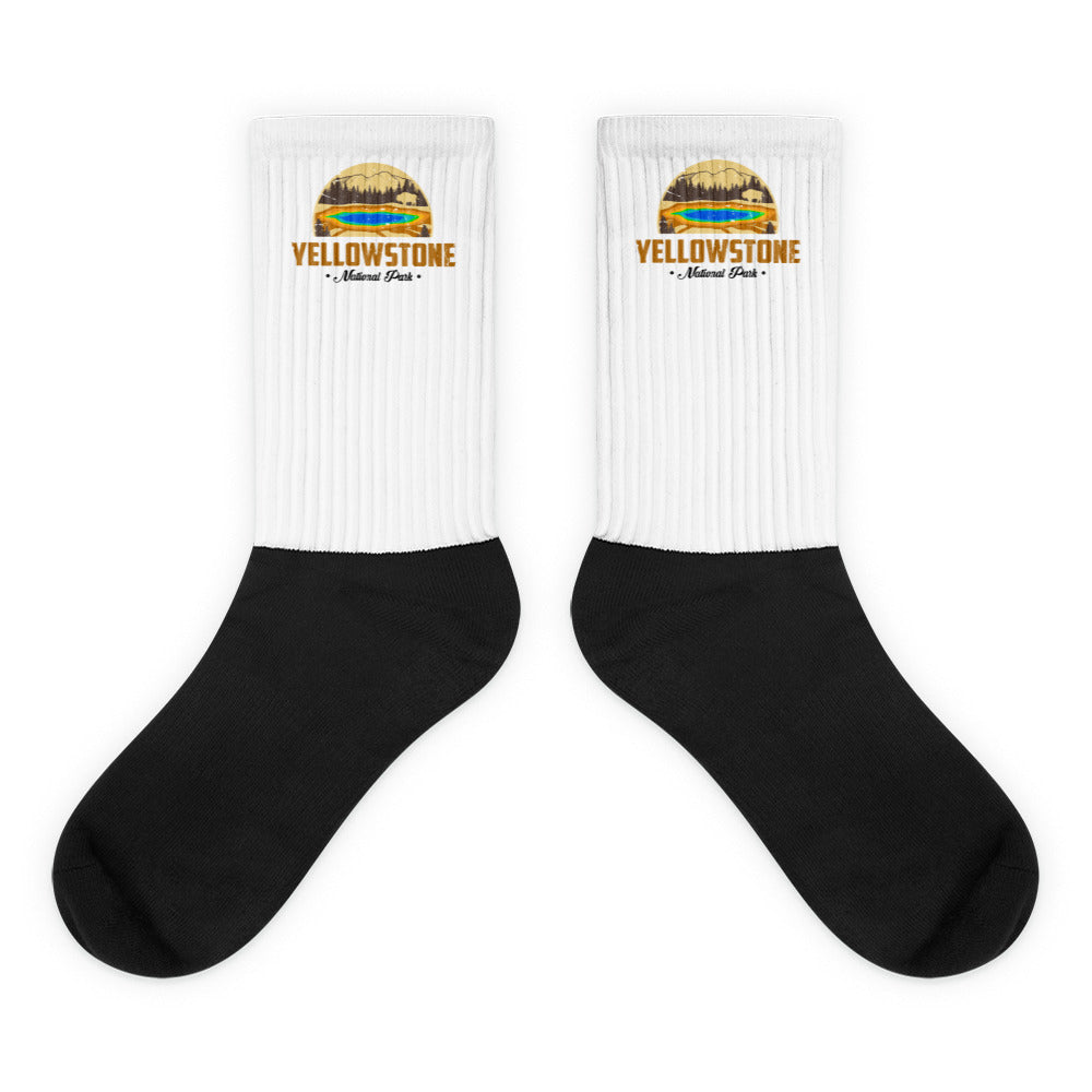Vintage Yellowstone National Park Socks