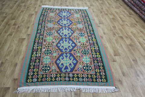 A Beautiful Handmade Persian Kilim 240 x 136 cm