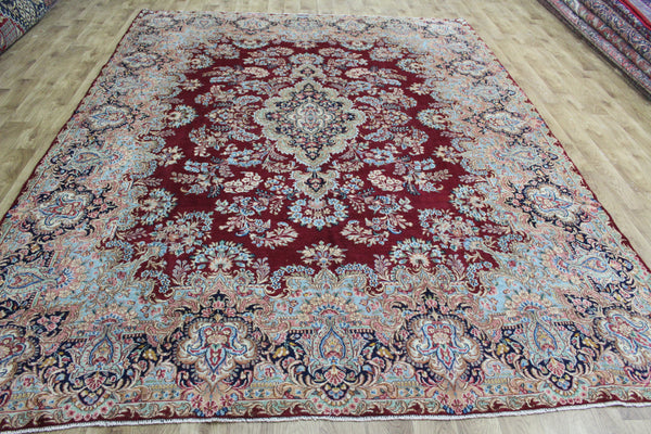 Fine Handmade Persian Kerman Carpet 330 x 250 cm