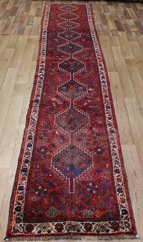 A Beautiful Persian Shiraz Runner 380 x 65 cm