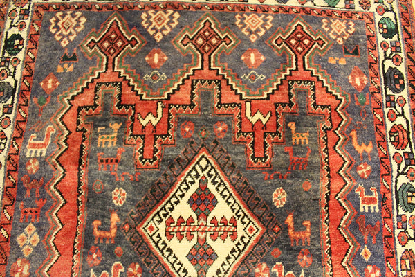 Old Persian Shiraz rug 210 x 95 cm