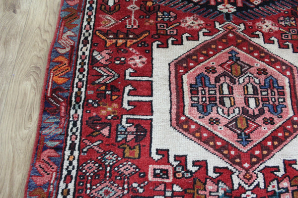 Old Handmade Persian Karajeh Runner Great Condition 440 x 90 cm
