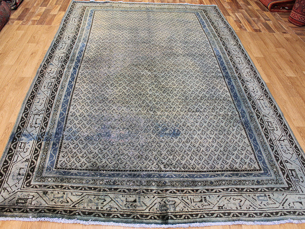 Overdyed Persian Mahal carpet 305 x 190 cm