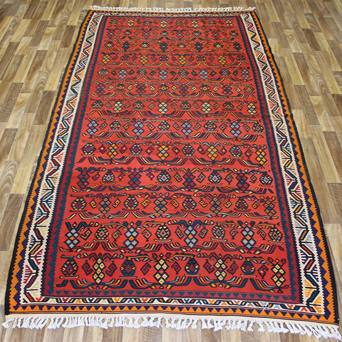 An outstanding Handmade Persian Kilim 300 x 155 cm