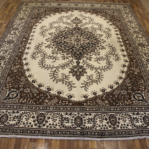 Old Handmade Persian Tabriz Carpet 400 x 310 cm