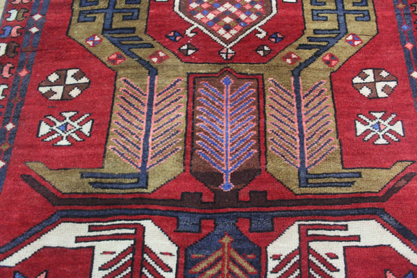 Dated Persian Heriz Runner, very hard wearing 312 x 100 cm