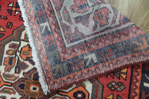 Old Persian Hamadan Rug Very Hard Wearing 140 x 95cm