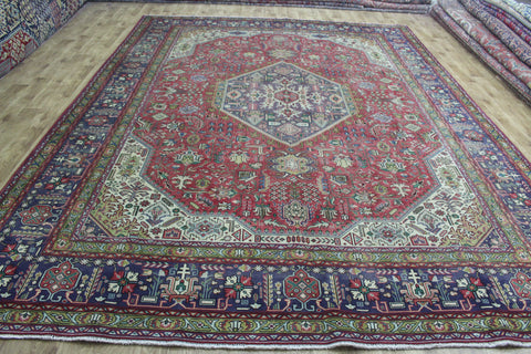Old North West Persian Tabriz Carpet 395 x 290 cm