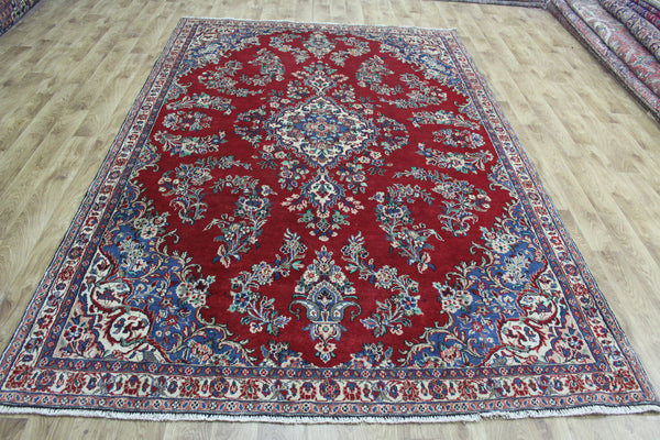 Old Persian Hamadan Carpet Floral Design 310 x 200 cm