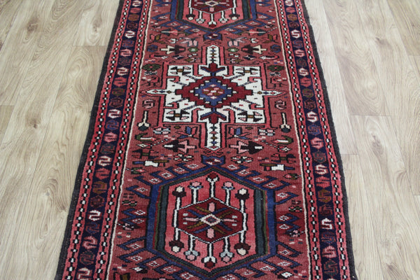 A Beautiful Persian Karajeh Long Runner Great Condition 340 x 70 cm