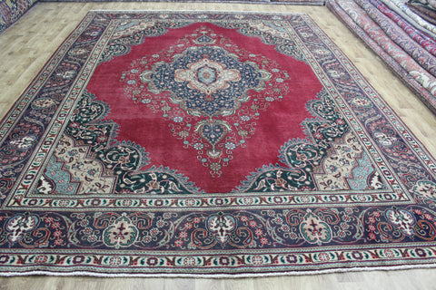 Old North West Persian Tabriz Carpet 390 x 295 cm