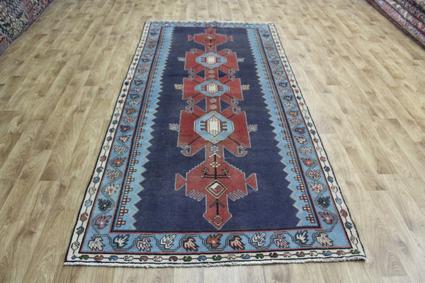 Old Persian Hamadan Rug, Very Hard Wearing 290 x 135 cm