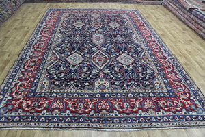 FINE PERSIAN YAZD CARPET, WITH VERY FINE FLORAL DESIGN 363 X 240 CM