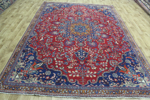 Old Persian Hamadan Carpet Floral Design 315 x 223 cm