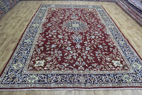 A Beautiful Handmade Persian Kerman Carpet 370 x 240 cm
