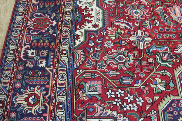 A Beautiful Handmade Persian Tabriz Carpet Floral Design 390 x 290 cm