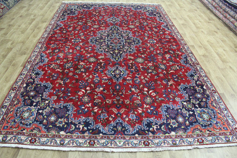 Old Persian Hamadan Carpet Floral Design 337 x 215 cm