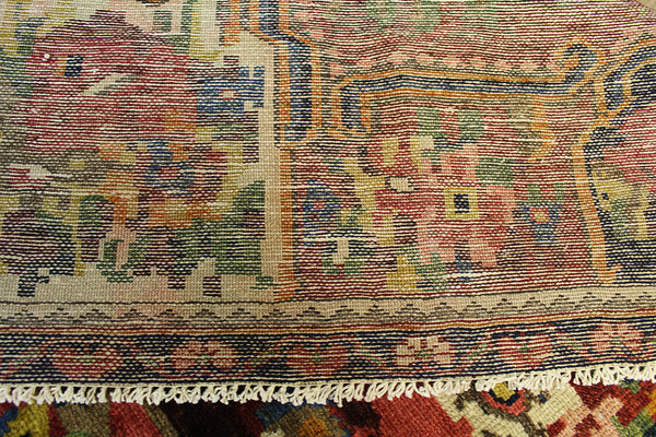 Antique Persian Bakhtiari rug circa 1920