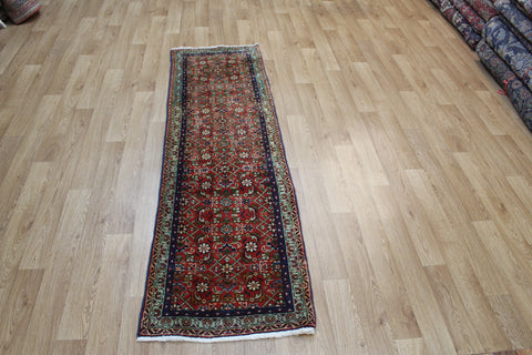 Vintage Persian Tabriz Runner with Herati design 200 x 55 cm