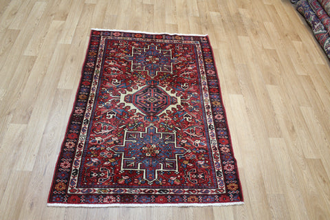 ANTIQUE KARAJA RUG OF CLASSIC DESIGN, HARD WEARING FURNISHING RUG, CIRCA 1900/20.