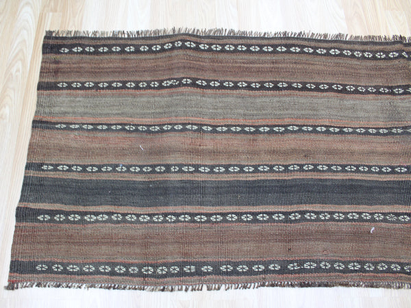 Antique Persian wool Kilim 210 x 70 cm