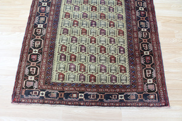 Antique Persian Baluch rug 140 x 100 cm