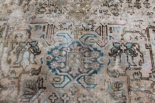 Overdyed Persian Tabriz Wool Carpet 300 x 190 cm