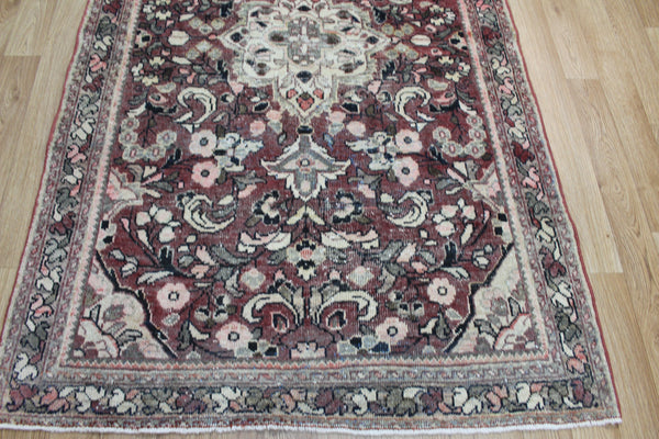 Antique Persian Mahal Rug Circa 1930