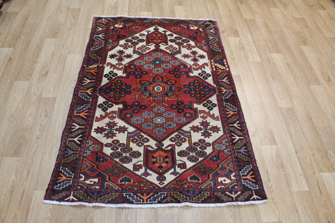 Antique Persian Hamedan Rug Circa 1920