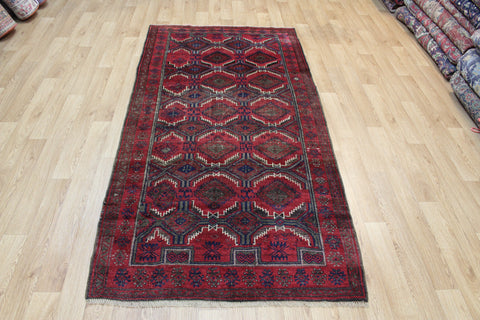 Antique Persian Baluch Rug Circa 1920