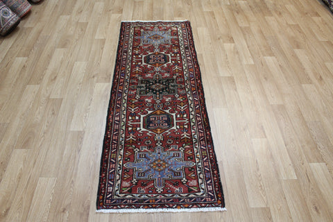 Antique Karaja runner of traditional design 175 x 65 cm