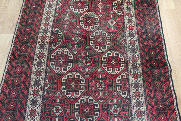 Antique Persian Baluch Rug 205 x 100 cm