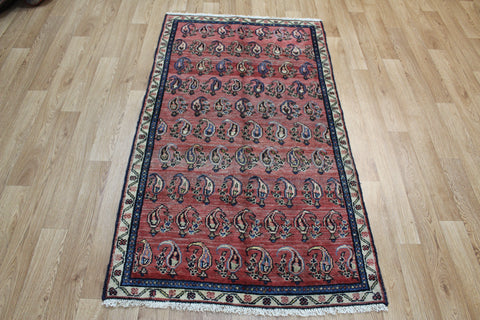 Antique Persian Hamedan Rug with Paisley design 170 x 95 cm