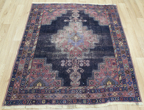 Antique Persian Afshar Rug Circa 1850