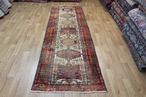 Antique Karaja runner of traditional design 297 x 95 cm