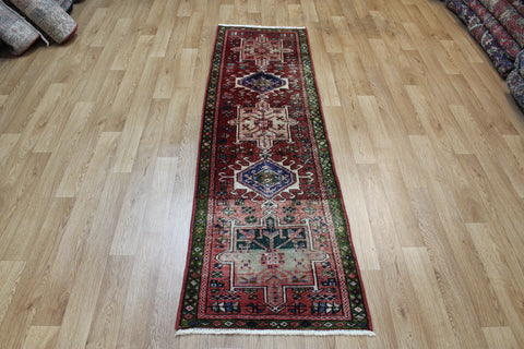 Antique Karaja runner of traditional design 215 x 60 cm
